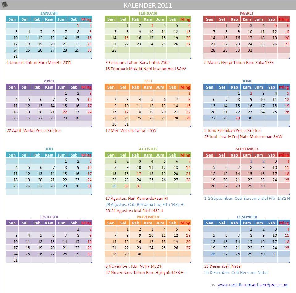 Download Kalender 2014 Indonesia Jawa Nasional Islam Download Kalender ...